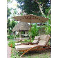 供应品旺实木沙滩躺椅TY-016