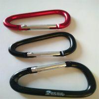 广州客人定做钥匙涤纶登山扣短带配带登山扣可丝印LOGO