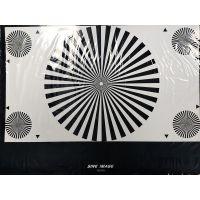 3nh YE0100相机镜头对焦分辨率几何失真卡(扇形星)