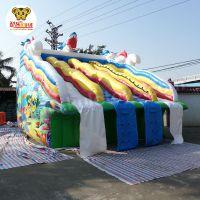 广州酷乐kl066大型移动式支架水池水上乐园充气水滑梯游乐设施儿童滑梯玩具大冲关