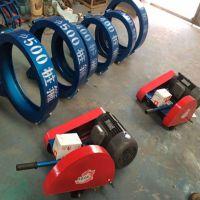 大功率卡箍式切桩机 抱箍式管桩切割机 电动锯桩机