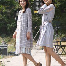 广州女子会社认同春秋棉麻女装进货渠道 广州品牌折扣女装直播货源供应
