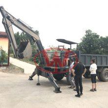 四驱自卸随车挖在哪买四不像带挖机