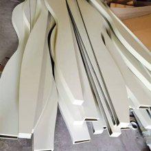 酒店吊顶弧形铝方通 大堂异形铝方通天花
