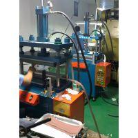 四柱热压成型机 苏州导电泡绵热压机