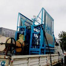 1.5米宽的多功能新型保温草帘机养殖厂用大棚牛棚宽度可调节