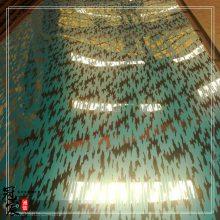 304不锈钢玫瑰金精磨镜面电梯门花纹板 酒店轿厢墙面不锈钢花纹板