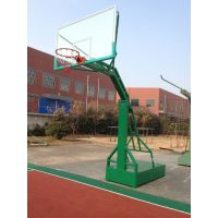 合肥销售安装篮球架,同款篮球架钢化篮板户外移动篮球架