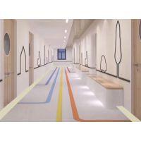塑胶地板德州防滑抗压pvc地板医院学校幼儿园健身房