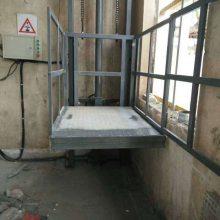 AG二八杠  固定式升降机 许昌工厂导轨式升降货梯定制 斜挂式升降平台 定制厂家
