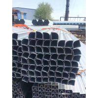 山东聊城异型钢管厂 20#厚壁花纹管价格 薄壁异型管哪里做