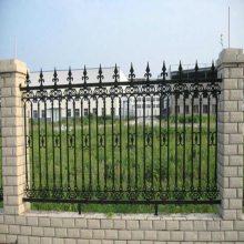 厂家供应 铁艺护栏 小区/别墅铁艺围墙铸铁护栏