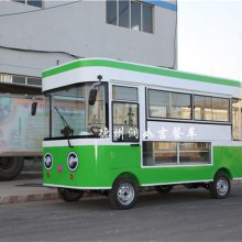 于田县餐车-润如吉餐车-四轮电动餐车小吃车内部图片
