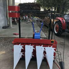 鲜玉米杆割晒机 手扶车割晒机 绿豆割晒机