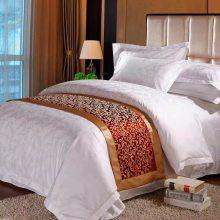 北京水星酒店纯棉床上用品定做纯棉宾馆床上用品