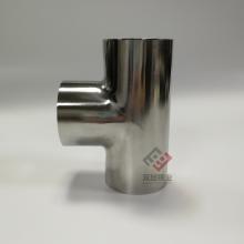 304卫生级三通 DN50不锈钢三通 304不锈钢光面三通