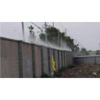 西安凯普威工地围挡喷淋设备施工 高压喷雾降尘厂家