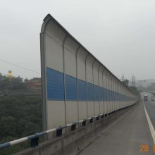 高速公路声屏障隔音墙 中央空调外机隔音板 学校室外冷却塔隔音板