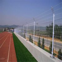 工厂围栏防护网 车间隔离防护网 黄色隔离网