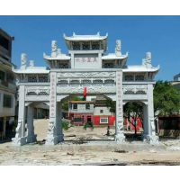 广东清明石牌坊的历史与特色讲究有哪些