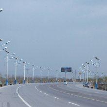 新疆昌吉太阳能路灯厂家直销 24V系统电压