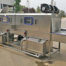 佛山林泰定制链网通过式汽配零件清洗烘干机 超声波喷淋除油清洗线厂家