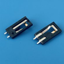 SMART CARD开关卡座/大小定位柱/2PIN/IC卡座/ETC专用/弹片高H=1.28mm