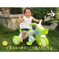 儿童电动摩托车小兔兔三轮男女宝宝音乐灯光儿童摄影奶粉店赠品