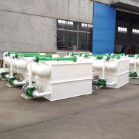 江西明辉厂家直销聚丙烯水喷射真空泵机组PP板无缝焊接防腐真空泵