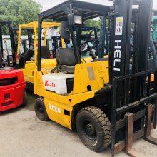 合力叉车专卖店-上海长富-k15二手合力1.5吨二手叉车