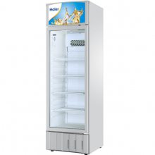 Haier/海尔饮料展示柜 SC-340立式冷藏展示柜 340L单门保鲜柜 饮料柜 陈列柜