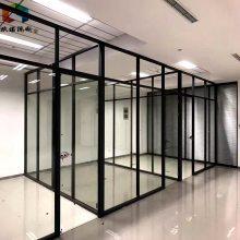 德州办公室移动屏风玻璃隔断墙装修可拆卸