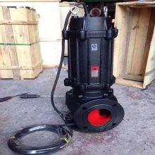 WQ型潜水式排污泵 无堵塞排污泵 WQ型无堵塞排污泵