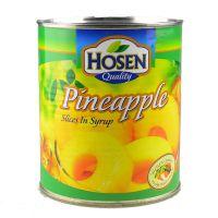 好顺凤梨片罐头825g 水果罐头 新鲜菠萝糖水罐头蛋糕烘焙原料批发