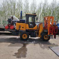生产公路护栏打桩机中国山东省新品热销公路护栏立柱打桩机