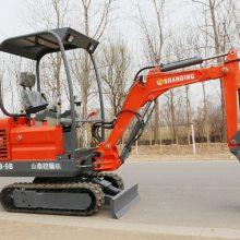 江西南昌土方开挖液压小型履带挖掘机 带驾驶室小挖机多少钱