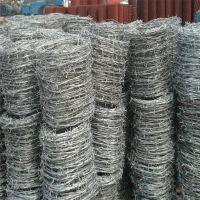 草原防护刺线 果园铁蒺藜网 监狱带刺铁网