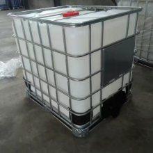 1吨塑料桶 带架子1000KG塑料桶 大方桶厂家供应 内胆HDPE材质