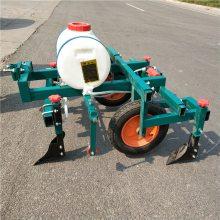 多功能花生起垄膜覆膜机 手扶车带施肥地喷药覆膜机