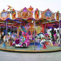 豪华转马童星公园儿童游乐设备厂家回头客不断