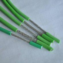 聚氨酯双护套高柔性屏蔽拖链电缆G-TRVVSP-4*1.5mm2镀锡编织屏蔽