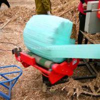 干草牧草秸秆包膜打捆一体机 建达供应青储快三倍投方案