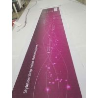 深圳龙岗厂家定制商场户外高清广告UV喷绘灯箱布 刀刮布制作