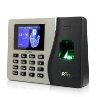 中控ST300指纹考勤机 指纹打卡机 网络型多彩考勤终端