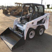个人闲置二手装载机低价转让 山猫BOBCAT-A100二手装载机