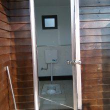 泡沫封堵移动厕所厂家定制 不锈钢移动公厕