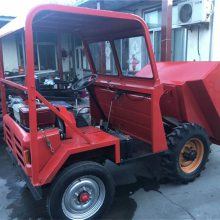 一件代发 城市建设用的前卸式翻斗车 有利于农忙的四轮自卸车