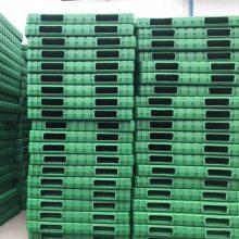 烟台1412绿色中空吹塑托盘