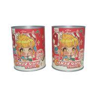 义信利y100花果茶铁罐包装 圆形茉莉花茶铁罐 定制磨牙棒小熊饼干罐 精美食品罐