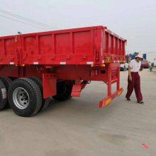 新疆工程机械运输低平板半挂车
